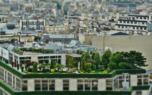 terrasse toit ville