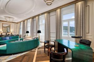 hotel palais luxe marques Budapest cadeaux