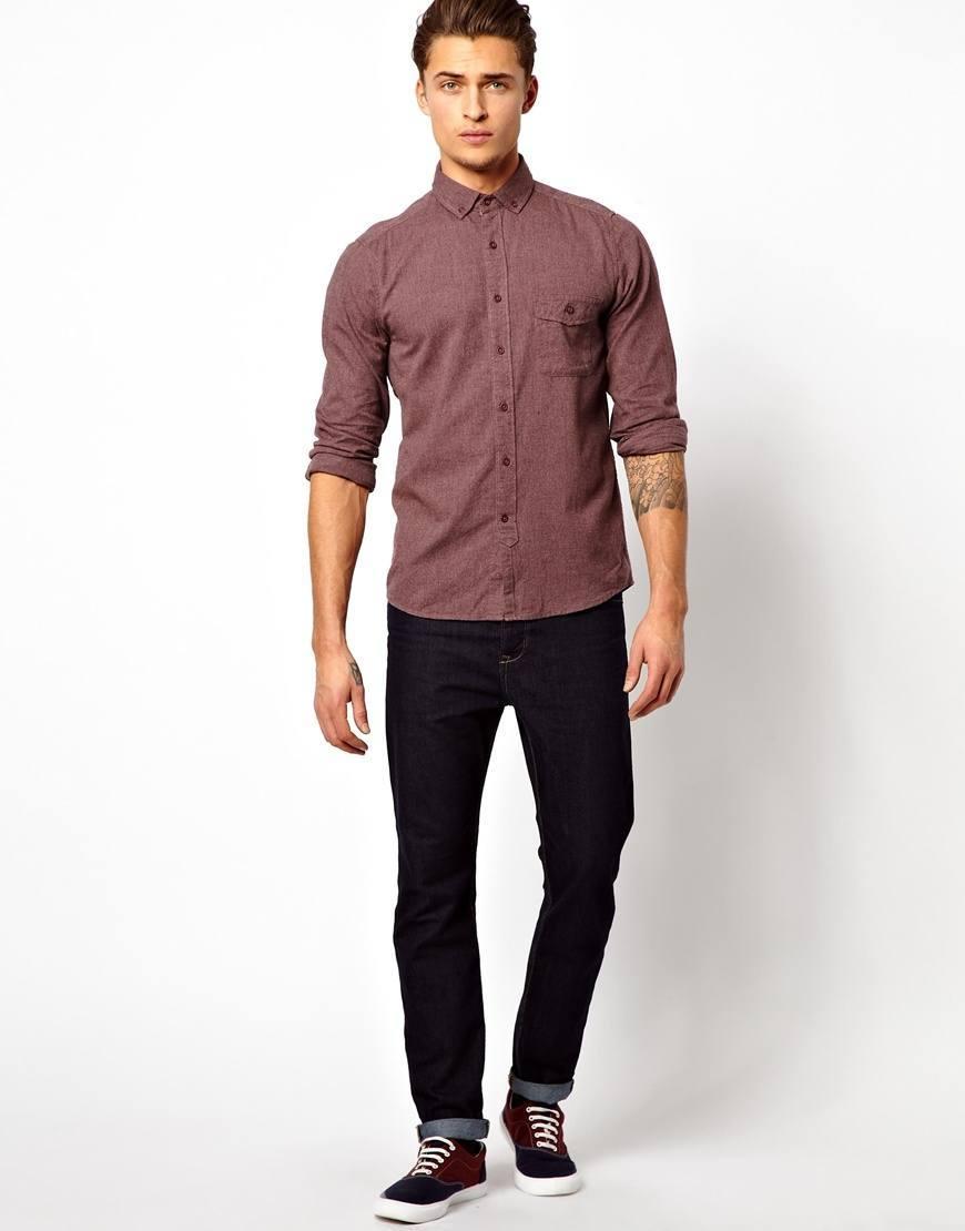 Rouler les chemises de façon irrégulière