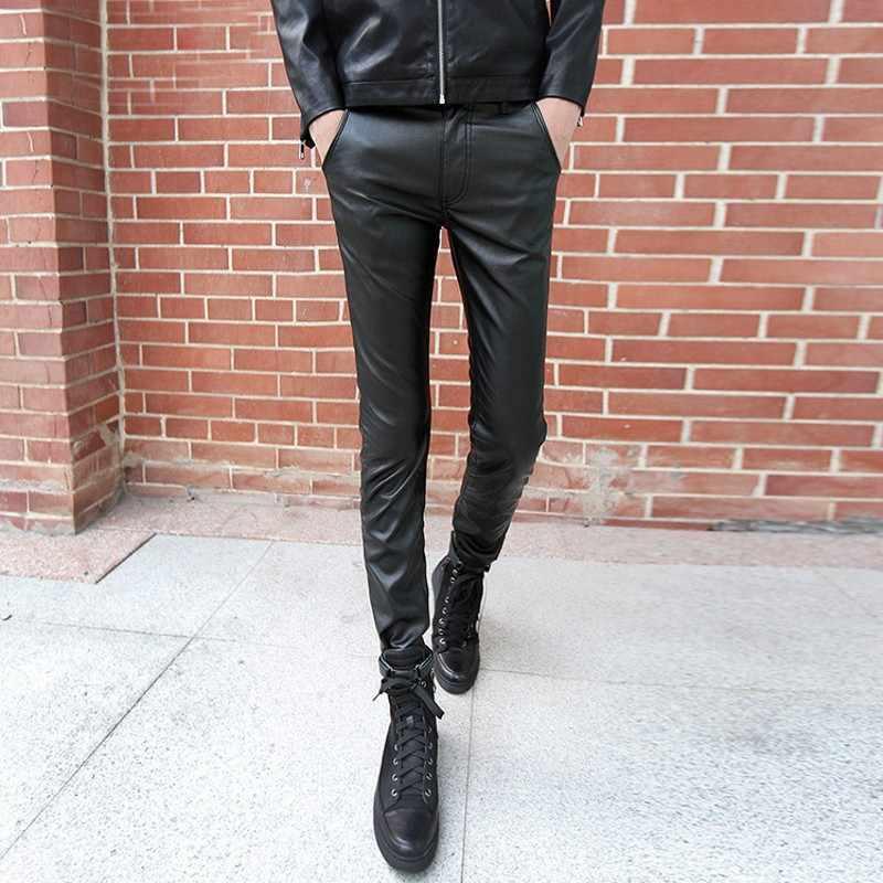Combinez des vestes en cuir avec des pantalons en cuir