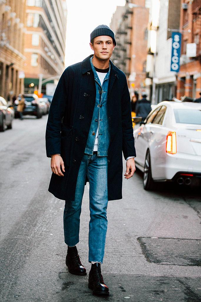 Jeans qui s'adaptent à une forme rectangulaire