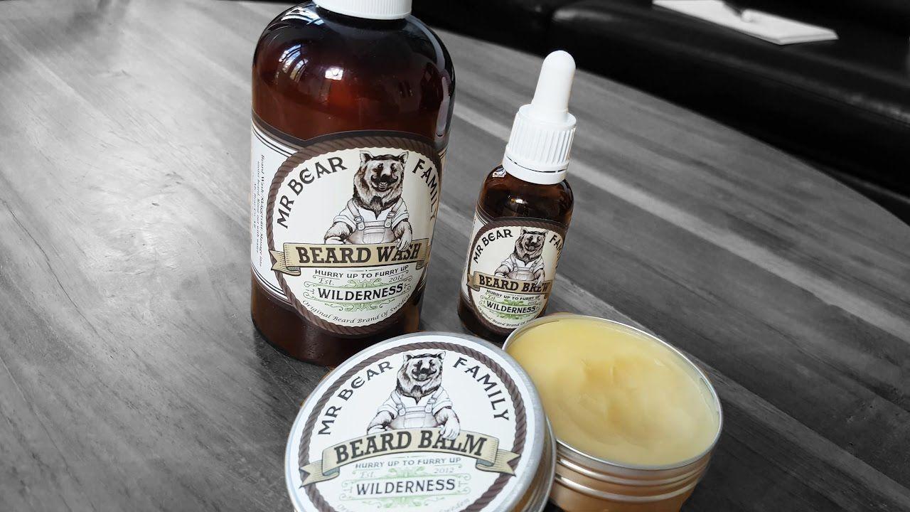 Utilisez des produits de barbe adaptés